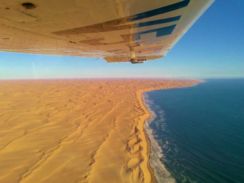 Conception Bay Scenic Flight - rundflug, Swakopmund Namibia